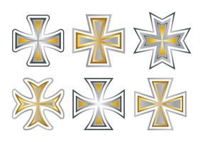 Maltese Cross Vector