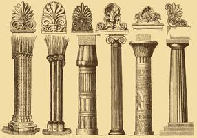 Old Style Drawing Columns