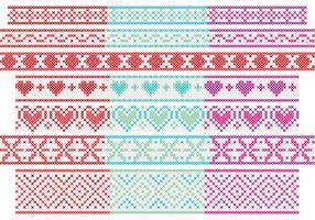 Cross Stitch Banners