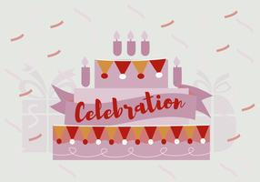 Free Birthday Celebration Vector Background
