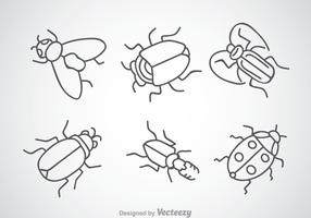 Insect Drawing Icons