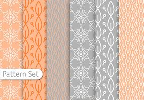 Decorative Pastel Pattern Set