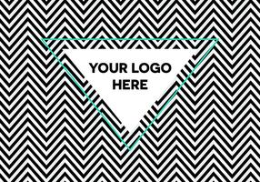 Free Optical Illusion Herringbone Logo Background