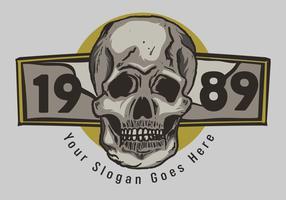 Skull 1989 Vector