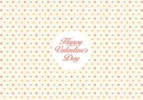 Valentine's day heart pattern background
