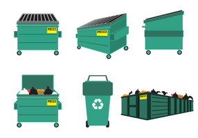 Free Dumpster Vector