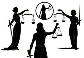 Lady Justice Vectors