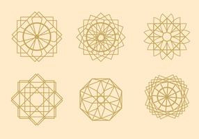 Geometric Arabesque Vectors