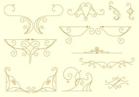 Decorative Arabesco Lines