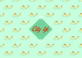 City pattern background