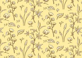 Cotton Plant Pattern