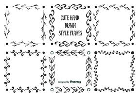 Hand Drawn Style Frames