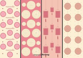 Mooncake Vectors Pattern