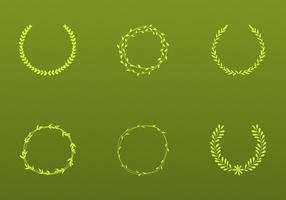 Olive Wreath Vectors