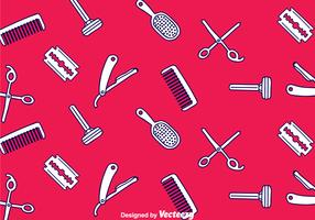 Barber Tools Seamless Pattern