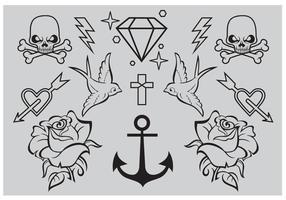 Old School Tattoo Vectors