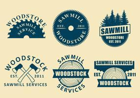 Sawmill Logo Vectors