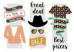 Free Fashion Sale Vector Background