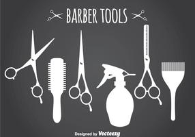 Barber Tools Silhouette