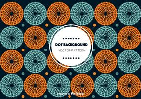 Circle Dot Background Vector