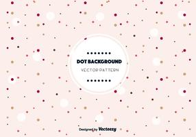 Cute Dot Background Vector