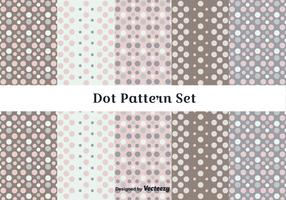 Subtle Dot Pattern Vector Set