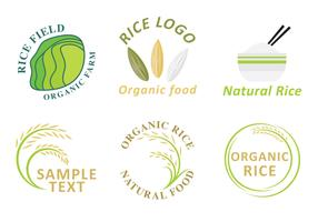 Rice Logo Vectors