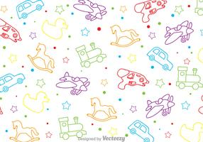 Children Toys Pattern