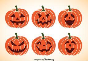 Pumpkin Jackolantern Vectors