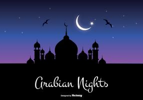 Arabian Nights Illustration