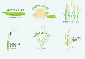 Nature and Swamp Logo Vectors