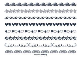 Cute Hand Drawn Style Borders