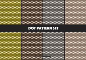 Earthy Vector Dot Pattern Set