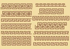 Greek Key Border Vectors