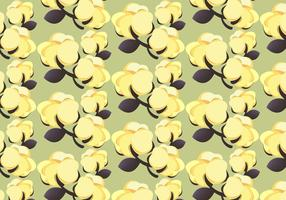 Free Cotton Plant 100% Pattern Vector