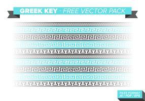 Greek Key Free Vector Pack
