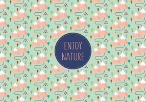Landscape pattern background