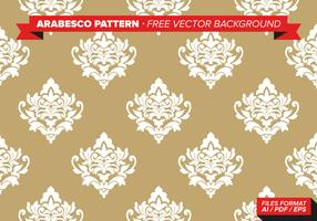 Arabesco Pattern Free Vector Background