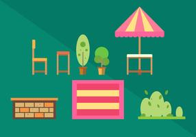 Free Family Picnic Vector Illustrations #2