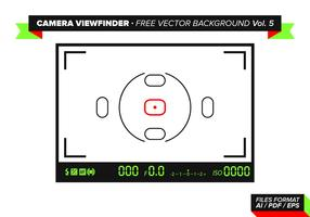 Camera Viewfinder Free Vector Background Vol. 5