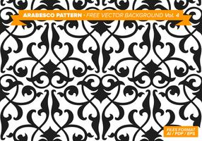 Arabesco Pattern Free Vector Background Vol. 4