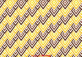 Brown And Yellow Chevron Pattern