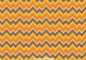 Orange And Brown Chevron Pattern
