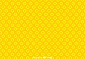 Simple Circle Yellow Background