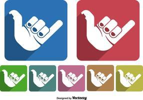 Shaka hand icon