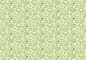 Abstract pattern background with green shapes
