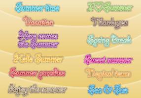 Vacation Titles