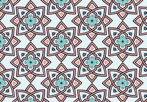 Star Moroccan Pattern Background