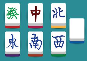 Mahjong Vector Elements