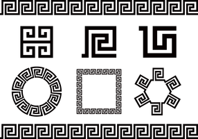 Free Greek Key Vector